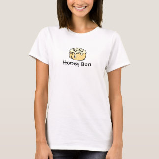 Design för tecknad för kanelbrun rulle för tee shirts