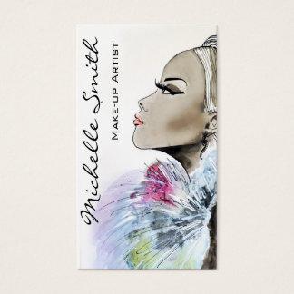 Design för visitkort för konstnär för
