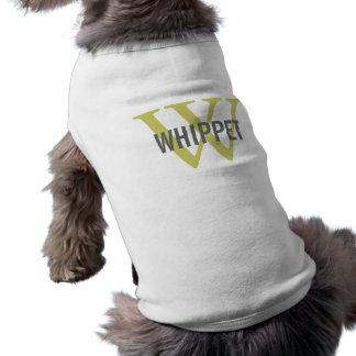 Design för Whippet avelMonogram Långärmad Hundtöja