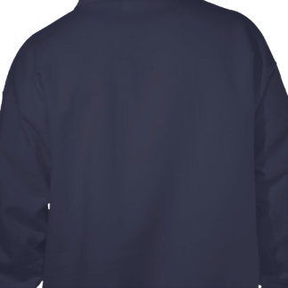 Design Your Own Navy Blue Hooded Sweatshirt
