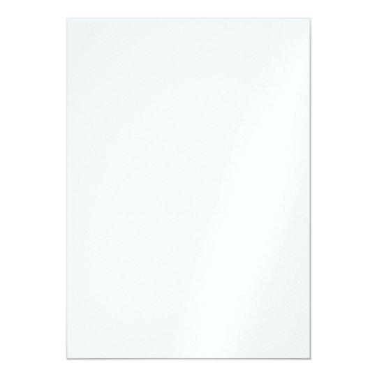 Pärlemor 12,7 x 17,8, Vita standard kuvert ingår