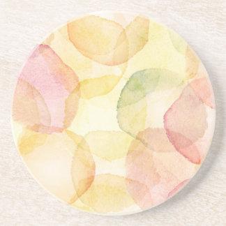 Designad abstrakt bakgrund med vattenfärg underlägg sandsten