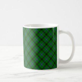 Designat tryck för Henderson klanTartan Kaffemugg