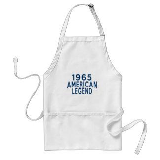 Designer 1965 för amerikanlegendfödelsedag förkläde