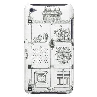 Designer för en delad upp trädgård, från 'den nya Case-Mate iPod touch fodral