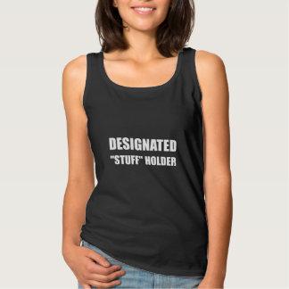 Designerad sakerhållare linne