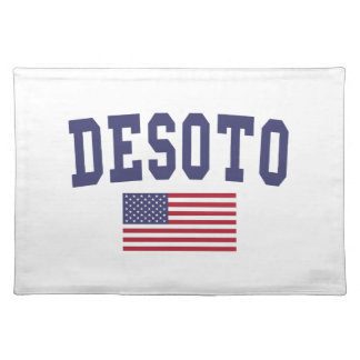 DeSoto US flagga Bordstablett