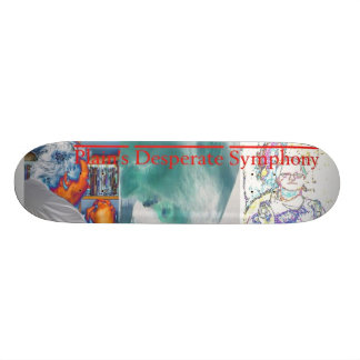 Desperat Skateboard för slättar