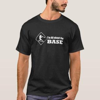Dess all omkring BASERA - baseballTshirt T-shirt