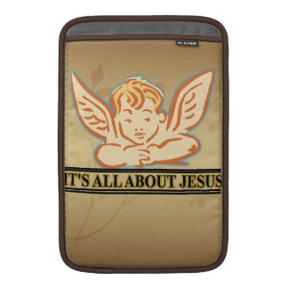 DESS ALL OMKRING JESUS MacBook AIR SLEEVE