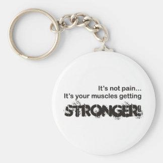 Dess att inte smärta… rund nyckelring