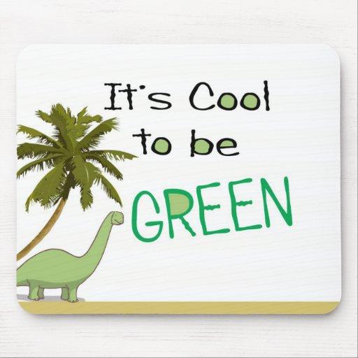 Dess coola som är gröna Mousepad Musmattor