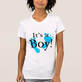 Dess en pojke - baby som är nyfödd firande t shirts