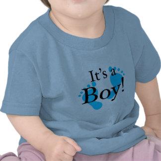 Dess en pojke - baby som är nyfödd, firande tee shirt