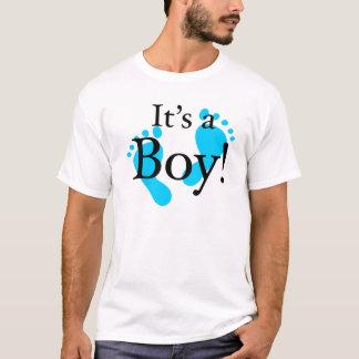 Dess en pojke - baby som är nyfödd, firande tröjor