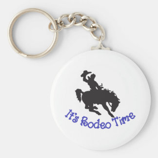 Dess Rodeo Time Rund Nyckelring