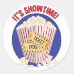 Dess Showtime Runt Klistermärke