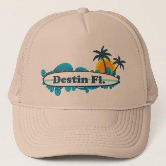 Destin Florida. Truckerkeps