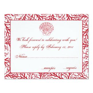 Destinationsbröllop OSA 10,8 X 14 Cm Inbjudningskort