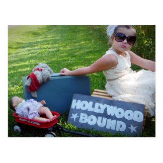Destinerade Hollywood Vykort