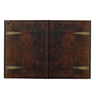 Destinerat inristat bokomslag för antikt läder powis iPad air 2 skal