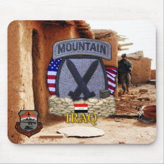 det 10th berguppdelningsGulfkriget vets Mousepad Musmatta