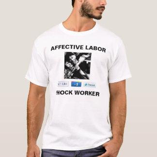 Det Affective arbetet chockar arbetarskjortan Tröja