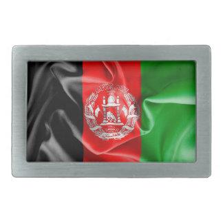 Det Afghanistan flaggabältet spänner fast