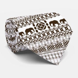 Det afrikanska motiv som är ljust - gråna, slips