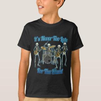 Det är aldrig för sent för deppigheten t-shirt