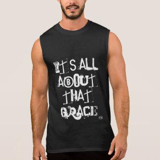 Det är All om den kristna Mashup för nåd T-tröja Sleeveless Tröjor