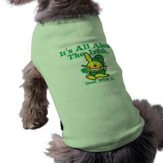 Det är All om irländare Husdjurströja