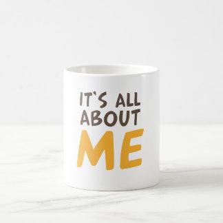 Det är all om mig kaffemugg
