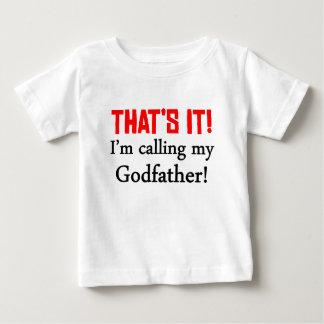 Det är det! Mig förmiddag som kallar min gudfader T Shirt