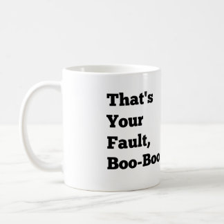 Det är din kritiserar, buar bu kaffemugg