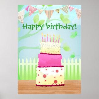 Det är ditt födelsedagaffischtryck print