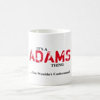 DET är en ADAMS SAK! Du skulle för att inte förstå Kaffemugg