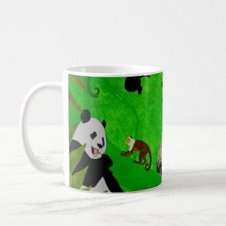 Det är en djungel kaffemugg