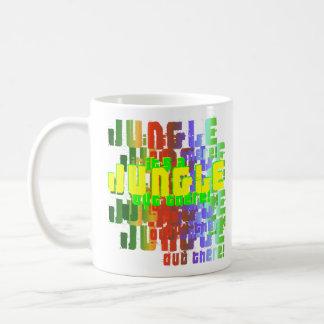 Det är en djungel ut där kaffemugg