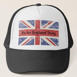 Det är en England sakhatt Truckerkeps