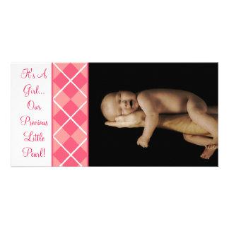 Det är en flicka…, Vår dyrbara lite pärla Fotokort