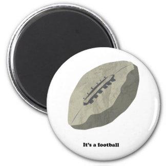 Det är en fotboll! magnet
