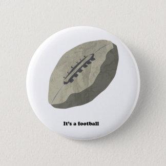 Det är en fotboll! standard knapp rund 5.7 cm
