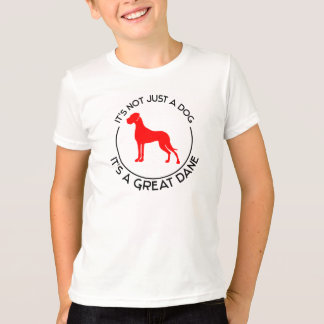 Det är en great dane t-shirts