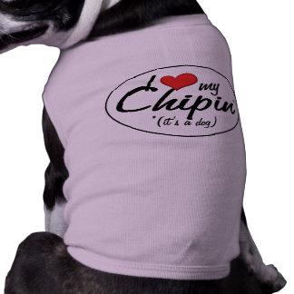 Det är en hund! Jag älskar min Chipin Långärmad Hundtöja