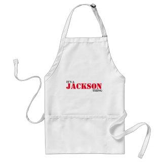 Det är en JACKSON sak! Förkläde
