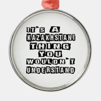 Det är en Kazakhstani sak som du skulle för att Julgransprydnad Metall