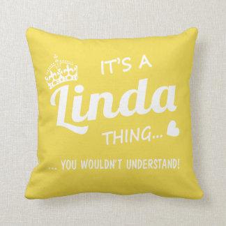 Det är en Linda sak Kudde