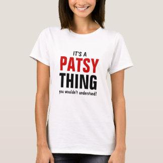 Det är en Patsysak som du skulle för att inte Tee