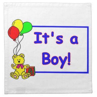 Det är en pojke! Servett